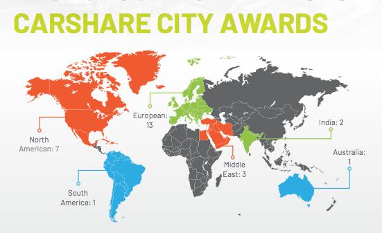 Car Share City Awards