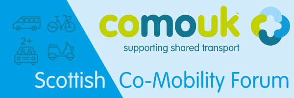 CoMoUK Scottish Co-Mobility Forum Logo